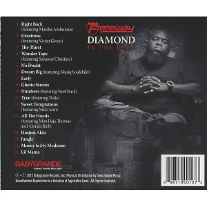 freeway - diamond in the ruff (Back)