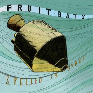 fruit bats - spelled in bones