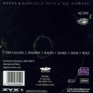 gabrielle roth - bones (Back)
