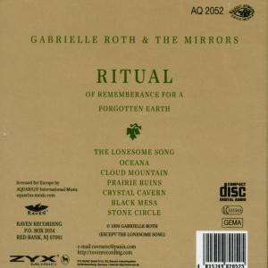 gabrielle roth - ritual (Back)