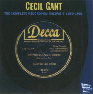 gant,cecil - the complete 1950-1951
