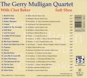 gerry quartet mulligan - soft shoe-jazz reference (Back)