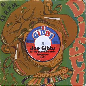 gibbs,joe - showcase vol.1-12inch reggae discomix