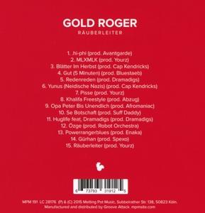 gold roger - r?uberleiter (Back)