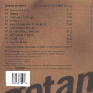 gotan project - la revancha del tango ltd.edi (Back)