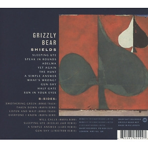 grizzly bear - shields: expanded (limited edition) (Back)