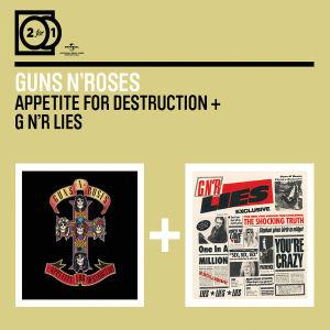 guns n' roses - 2 for 1: appetite for destruction/gn'r l