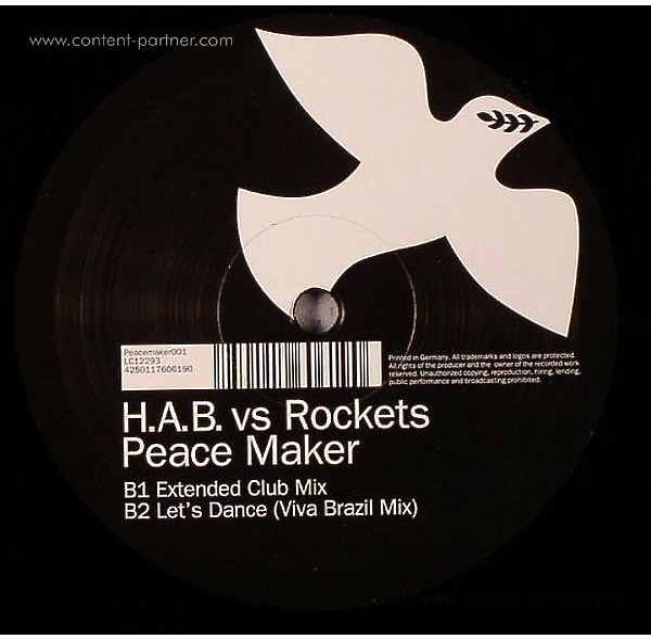 h.a.b. vs rockets - peace maker (Back)