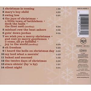 harry belafonte - american wintertime (Back)