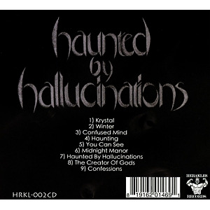 haunted by hallucinations - haunted by hallucinations (Back)