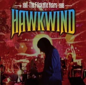 hawkwind - the flicknife years 1981-1988 (5cd box)