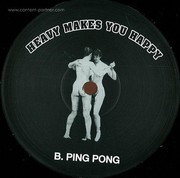 heavy disco - super jock / ping pong (Back)