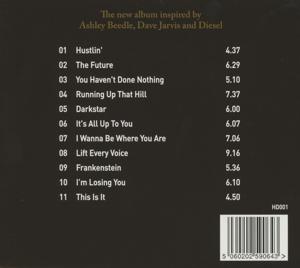 heavy disco - the trials & tribulations of heavy disco (Back)