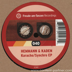 hemmann & kaden - karacho / synchro ep