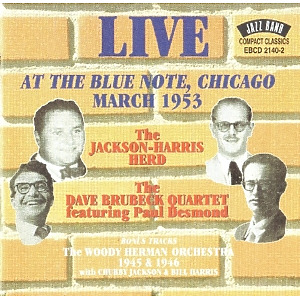 herd,jackson harris - live at the blue note