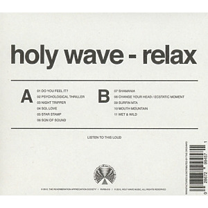 holy wave - relax (Back)