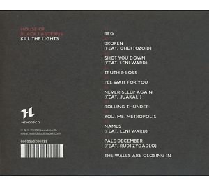 house of black lanterns - kill the lights (Back)