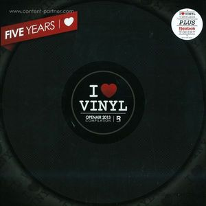 i love vinyl - open air 2013 box (incl. size m shirt)