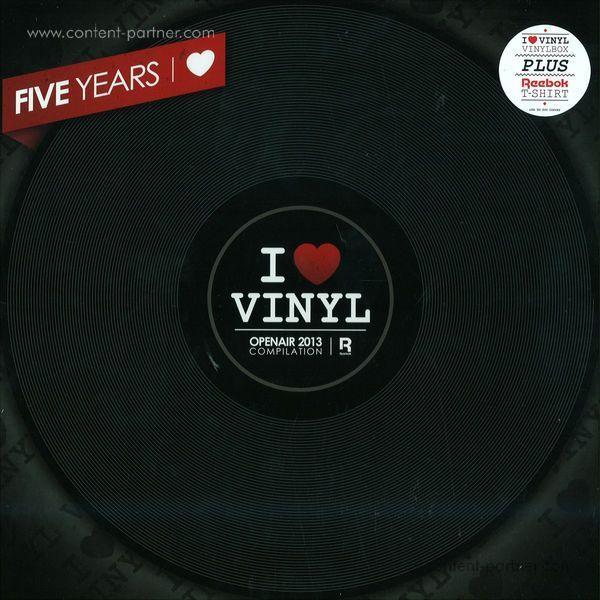 i love vinyl - open air 2013 box (incl. size s shirt)