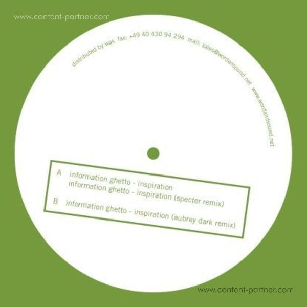 information ghetto - inspiration, specter remix