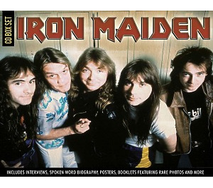 iron maiden - cd collector's box set