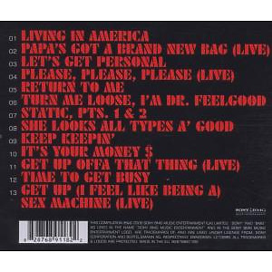 james brown - best of (Back)