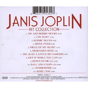 janis joplin - hit collection-edition (Back)