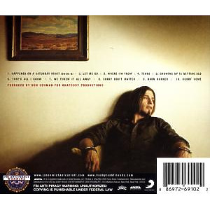 jason michael carroll - growing up is getting old (Back)