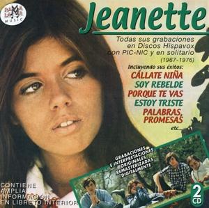 jeanette - todas sus grabaciones en discos hispavox