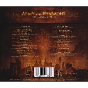 jedi mind tricks presents - army of pharoahs-the unholy terror (Back)