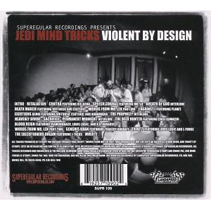 jedi mind tricks - violent by design (Back)