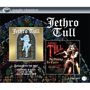 jethro tull - living with the past/nothing is easy-liv