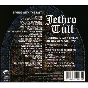 jethro tull - living with the past/nothing is easy-liv (Back)