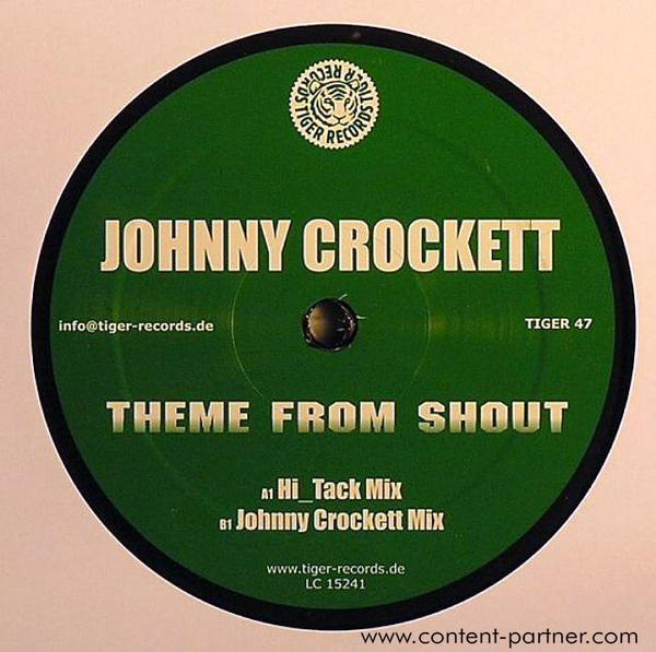 johnny crockett - theme from shout (Back)
