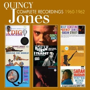 jones,quincy - the complete recordings: 1960-1962