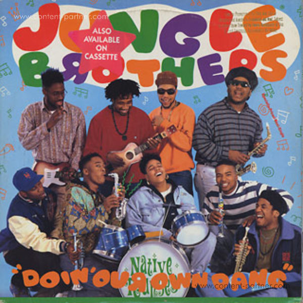 jungle brothers - doin' our own dang (Back)