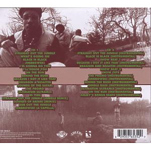jungle brothers - straight out the jungle (special edition (Back)