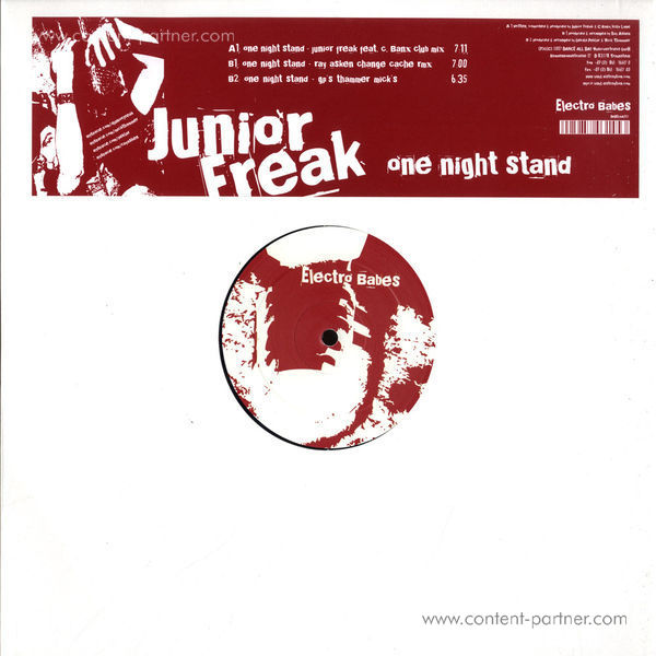 junior freak - one night stand (mick thammer rmx)