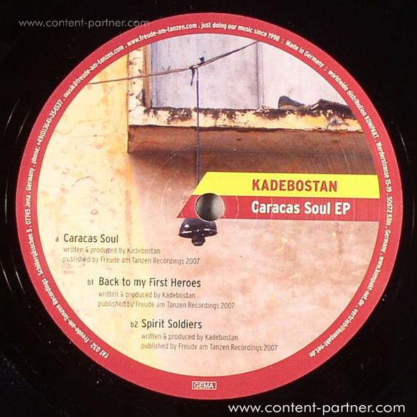 kadebostan - caracas soul ep (Back)