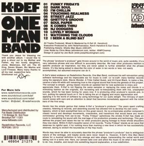 k-def - one man band (Back)