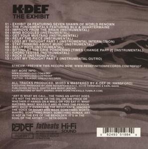 k-def - the exhibit (Back)