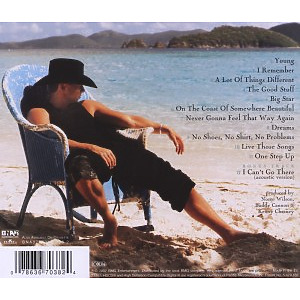 kenny chesney - no shoes,no shirt,no problem (Back)