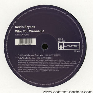 kevin bryant - who you wanna be (bob sinclar remix)
