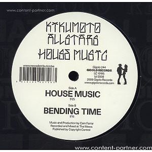 kikumotoallstars - house music/bending time