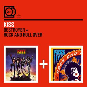 kiss - 2 for 1: destroyer/rock and roll over