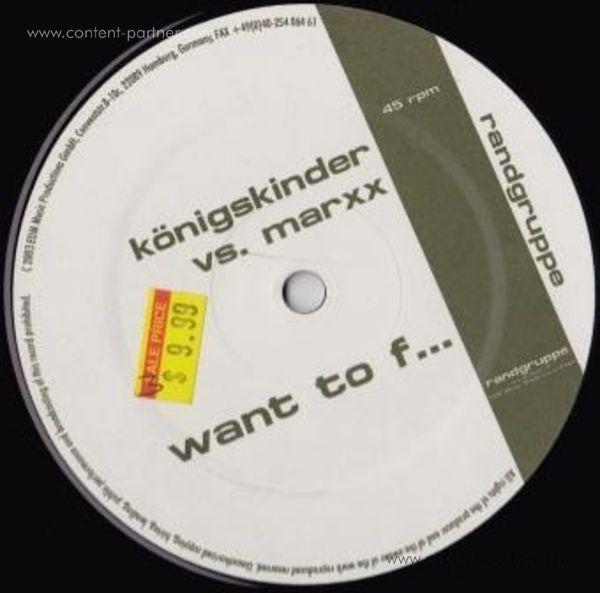 königskinder - want to fuck (back in)