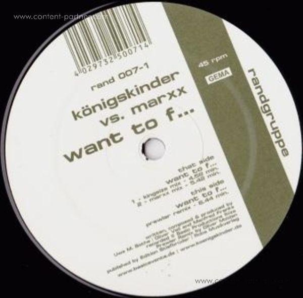 königskinder - want to fuck (back in) (Back)