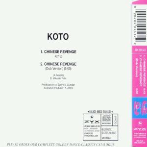 koto - chinese revenge (Back)