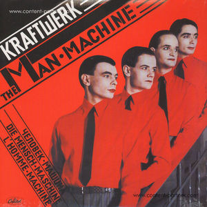 kraftwerk - man machine (back in)