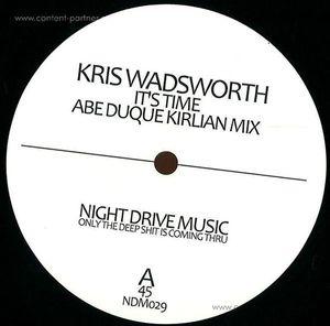 kris wadsworth - it's time (abe duque & jimmy edgar mixes